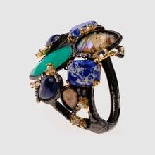 Amorita boutiqueNatural stone exaggerated bracelet