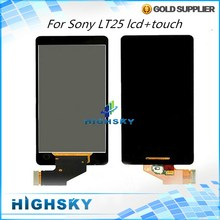 Tested 4.3 inch Black Display Fit For Sony Xperia V LT25 LT25i LCD With Touch Screen Digitizer Assembly 1 Piece Free Shipping
