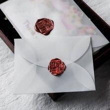 40 teile/satz Schwefelsäure Papier Ranslucent Leeren Umschlag Für DIY Postkarte Scrapbooking Umschlag Hochzeit Planer Brief Einladung