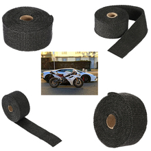 Heat Exhaust 10m Reflective Insulation Kit Refit Design Pipe Shield Fireproof Cloth for Motorcycle