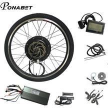 1000 Вт комплект для переоборудования электрического велосипеда заднее колесо 20 24 26 27,5 27 28 29 дюймов 700C комплект для электровелосипеда, компле...