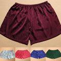 2pcs/lot General silk trunk low-waist silk panties silk panties legging shorts