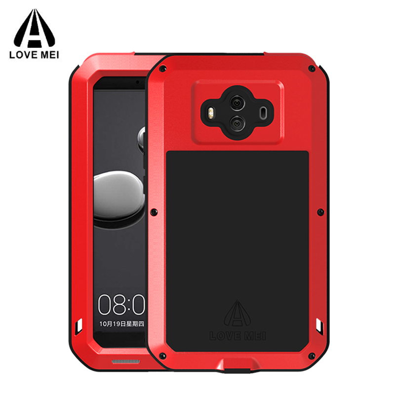 LOVE MEI Powerful Cases For HUAWEI Mate 10 Cover 5 9 Heavy Duty Shockproof Case Quality