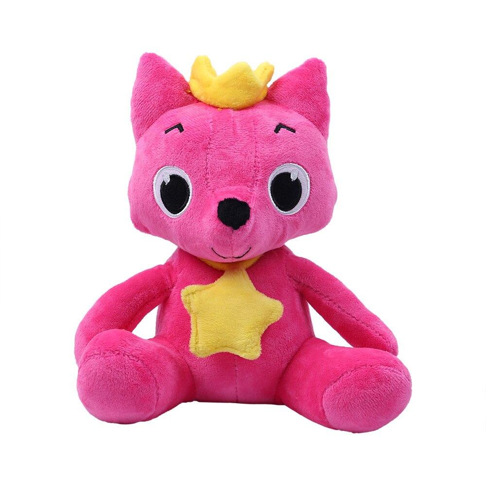 Dolls Plush-Animal-Toys Sharks Fox Stuffed Baby Cartoon Cute Accompany-Doll Gift Soft