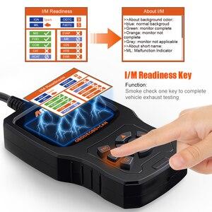 Image 3 - Ancel EU510 OBD2 escáner lector de código de motor Auto control de batería scaner automotriz ODB OBD 2 escáner automotriz herramienta de diagnóstico de coche PK ELM327 v1.5