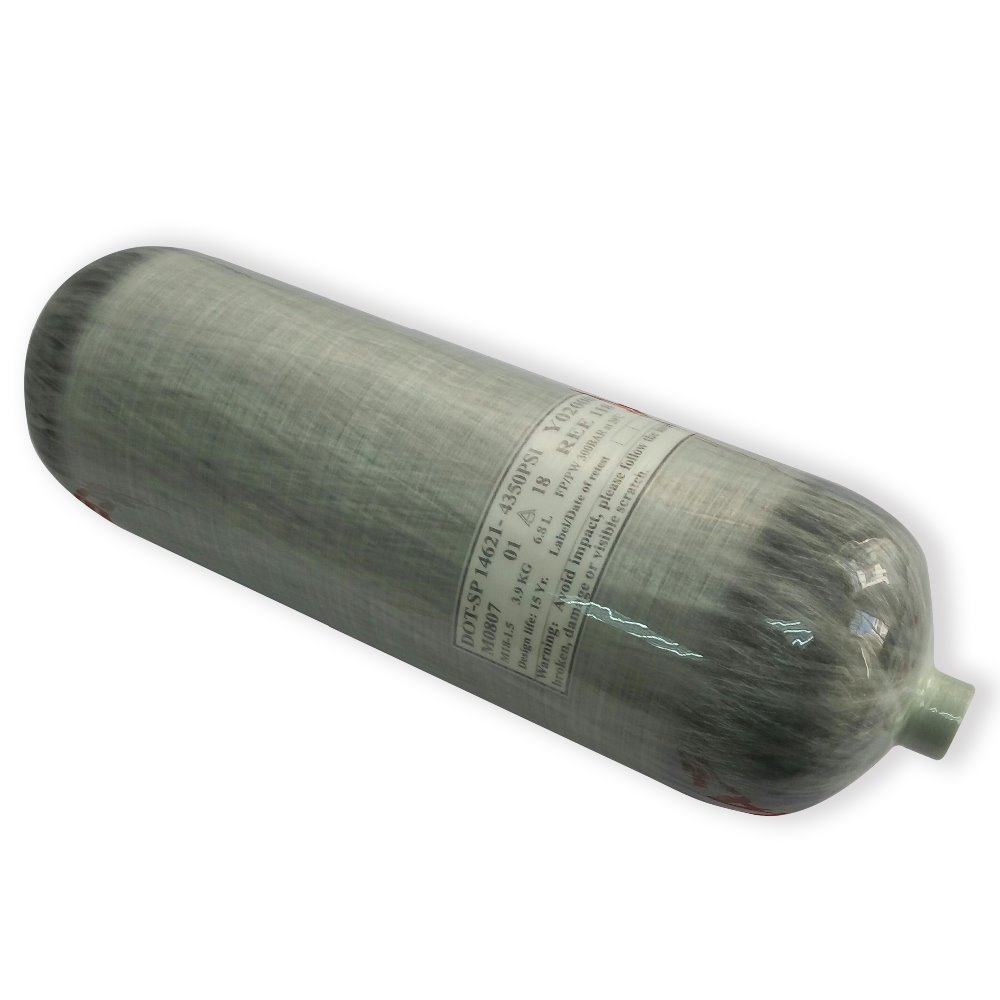 AC2680 6.8L DOT Certification Scuba Pcp Carbon Fiber Tank 4500psi Pcp Air Rifle Pressure Airforce Condor Paintball Tank Airgun