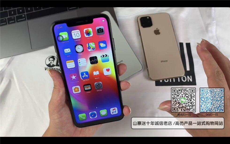 苹果11高仿手机实拍图片