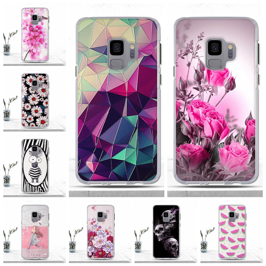 3D Printing Silicon Case for Samsung Galaxy S9 S 9 Case Soft TPU Protetive Phone Cover for Samsung S9 S9 Galaxy S9 Case Cover