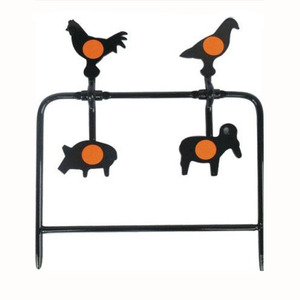 Image 5 - 4 Four Animals Targets Automatic Reset Rotating Shooting Target For Hunting Shooting Accessory