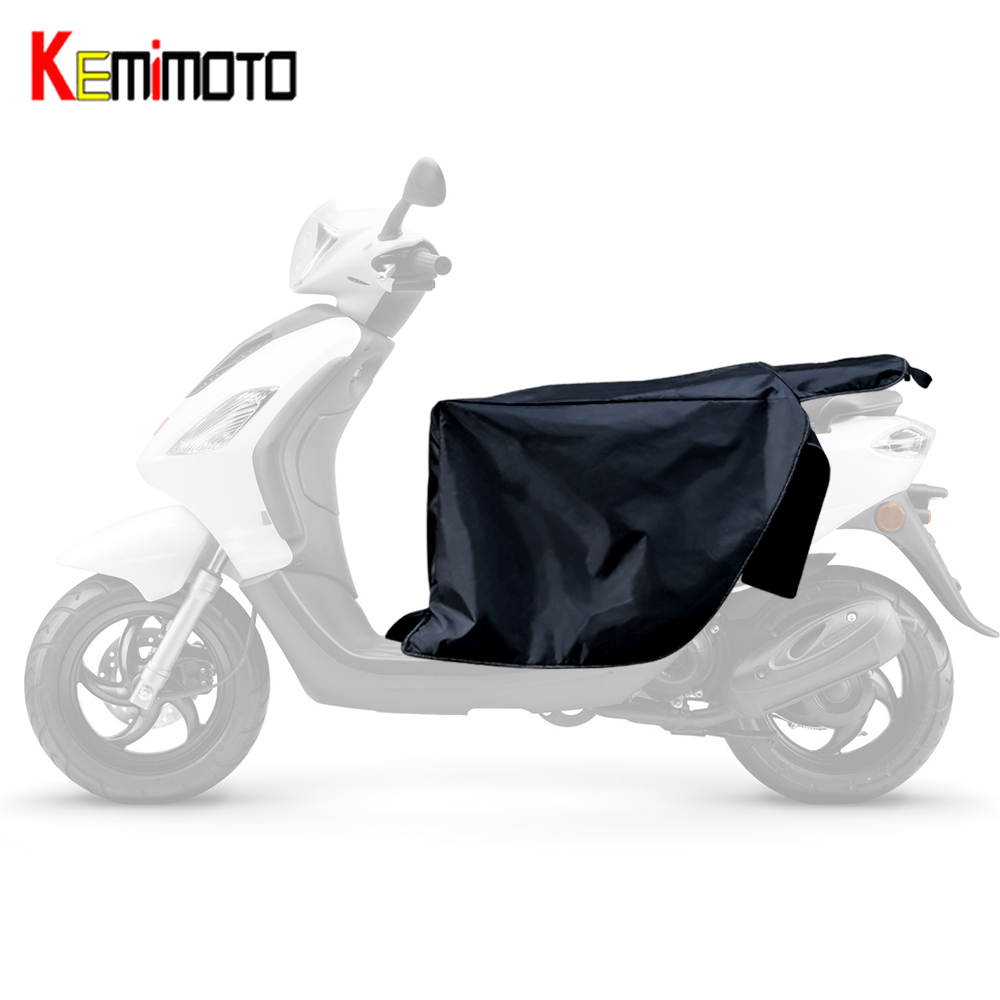 Kemimoto Legs Protector Motorcycle Scooters Vespa Winter Knee-Warmer for Quilt Windproof