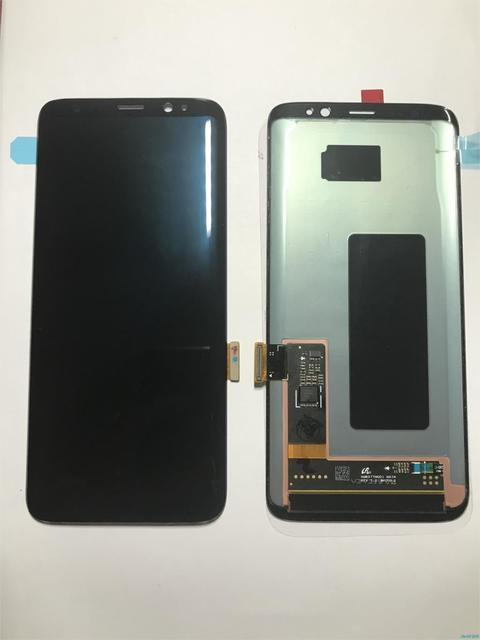 US $97 38 8% OFF Original For Samsung Galaxy S8 PLUS G950 g955 g950f g955f  Burn in Shadow lcd display with touch screen Digitizer Super AMOLED-in