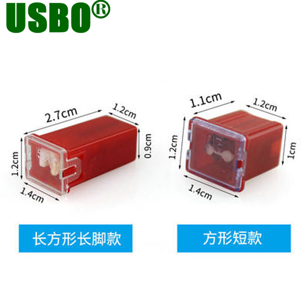 Auto Truck Insurance Board 20a 25a 30a 40a 50a 60a Fuse Box Fire Dedicated Multicolor 27cm 11cm Length Sqaure Car Blade In Fuses From Home Improvement On