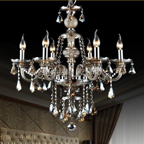 Křišťálové lustrové osvětlení Domácí osvětlení Cristal luster Dekorace Lustry a závěsné lustry Obývací pokoj Vnitřní lampa