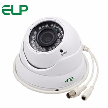 Outdoor waterproof 2.8-12mm varifocal lens H.264 ir 35m night vision dome cctv security camera 1200tvl