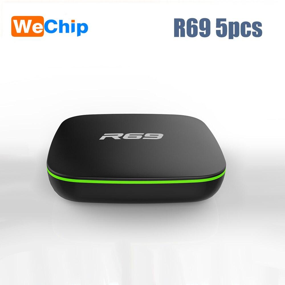 5pcs/lot R69 Smart Android 7.1 TV Box 1GB 8GB 2.4G Wifi Allwinner H3 Quad-Core Set Top Box 1080P HD 3D movie Media player5pcs/lot R69 Smart Android 7.1 TV Box 1GB 8GB 2.4G Wifi Allwinner H3 Quad-Core Set Top Box 1080P HD 3D movie Media player