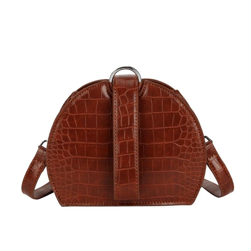 New Women Mini PU Shoulder Bag Fashion Design Colorful Shaped Women Saddle  Bag Suitable Shoulder Bag affc54fe68aa