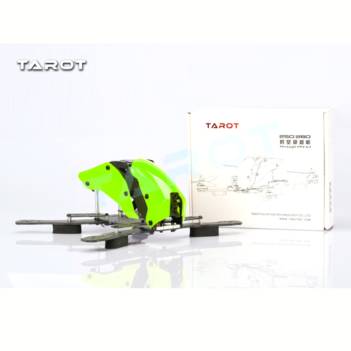 Tarot 250H 250mm 4-Axis Mix Carbon Fiber Quadcopter Frame with Landing Gear for RC FPV TL250H zmr250 250mm carbon fiber 4 axis 250 mm fpv quadcopter mini h quad frame for qav250