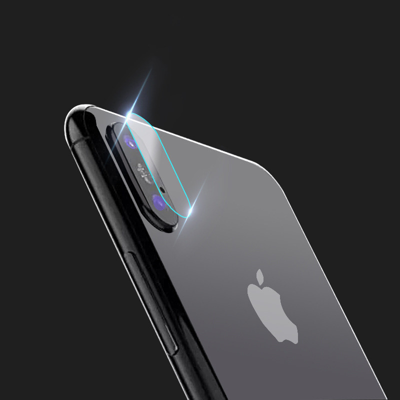 Dreamysow HD Lens Film For iPhone 5/5S/SE 6 6s 7 8 Plus X Rear Camera Cover Back Screen Protector Tempered Glass Anti-Scratch