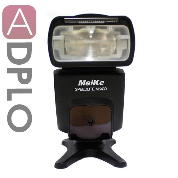 Meike MK430 TTL Flash Speedlite Suit For Nikon F Camera D4 D3 D7100 D7000 D600 D800E D700 D300S D3100 D90 D7100 D7000 вспышка для фотокамеры meike 570n speedlite speedlight 2 4 g rc9 nikon mk 570n