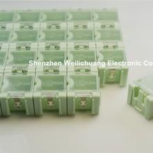 50pcs DIY SMD SMT Electronic Component Mini Storage Box Case Transparent Cover f