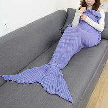 14 Colors Mermaid Tail Blanket