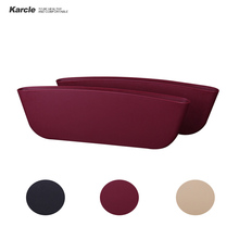Karcle 2Pcs Car Seat Box Gap Pocket 2-3CM Catcher Organizer Leak-Proof Storage Box Auto Organization Bag Container Slit Pouch