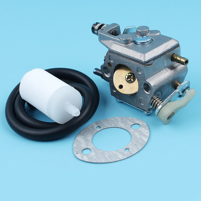 Vergaser Kraftstoffschläuche Filter Kit für Husqvarna 51 55 50 Kettensäge 503281504 # Walbro WT-170-1/WT-170 Carb Dichtung