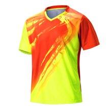 Спортивная быстросохнущая рубашка для бадминтона, Мужская одежда для бадминтона, рубашка для настольного тенниса, одежда для настольного тенниса, футболки поло