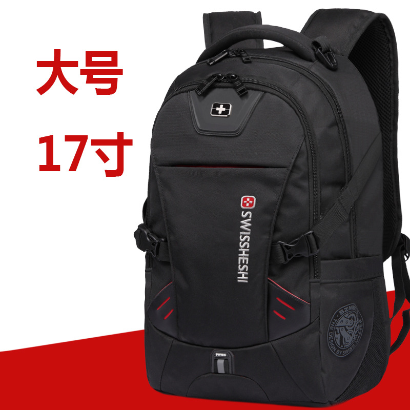 Swiss Nylon Laptop Backpack For 17 Inch Men Male Bag Men Backpack Multifunctional Boy Backpack Male Backpack Bag To School