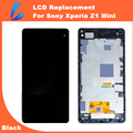 LL TRADER Black Touch screen For Sony For Xperia Z1 Mini D5503 LCD Display With  Digitizer Assembly Replacement Frame + Tools