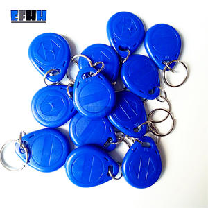 EFHH 125Khz Rewritable RFID Key Tags Copy Blank Card