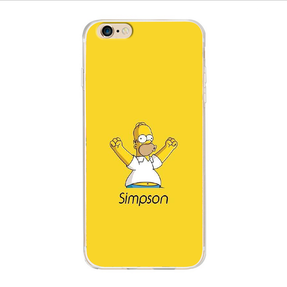 For animation Simpson Cover Case for Samsung Galaxy S4, S5 S6 S7 2016 Coque  Edge for iPhone 4 4 s 7 5 s 5 c SE 6 6 s Plus on Aliexpress.com | Alibaba  Group