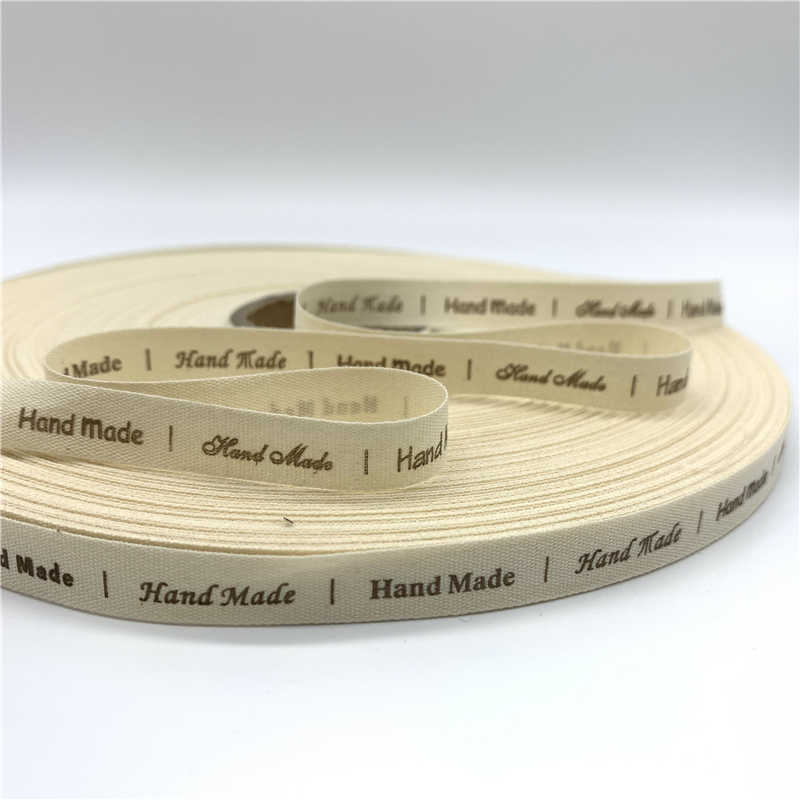 25mm Printed Cotton Ribbon Handmade Gift Present Package DIY Sewing Craft