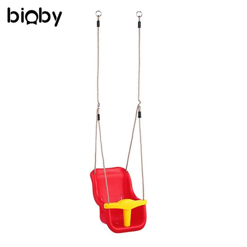 3 en 1 multifonctionnel sûr enfants balançoire enfant maternelle aire de jeux famille grand espace couleur bébé balançoire enfants jouets de plein air