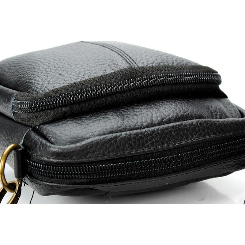 de negócios de couro bolsa Bag Tipo : Men Genuine Leather Messenger Bags