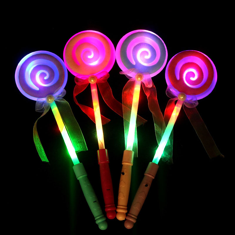 LED Light Sticks Colorful Fluorescence Light Sticks Children Glow In The Dark Toys For Children Concert Party Light Up Toy
