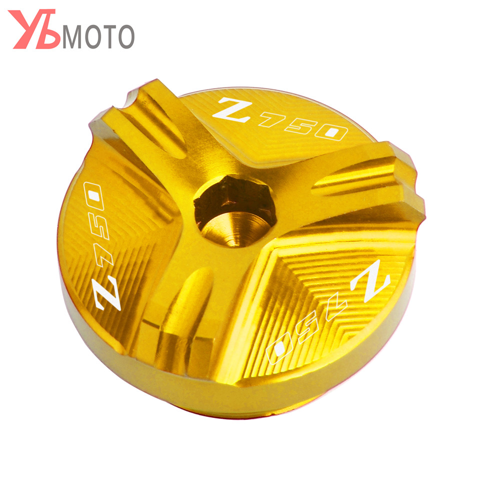 Image 3 - Flash Deals FOR KAWASAKI Z750/S 2004 2005 2006 2007 2008 2009 2010 Accessories Motorcycle CNC Oil Filler Cap Plug With Logo-in Covers & Ornamental Mouldings from Automobiles & Motorcycles