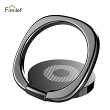 Luxury 360 Degree Universal Phone Metal Finger Ring Holder For iPhone Samsung Xiaomi Mobile Stand Mount Support