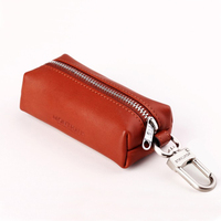 2016 Hot Selling Men&Women's Fashion Genuine Luxury Cow Leather Key Holder Wallet Key Chain Bag Free Shipping