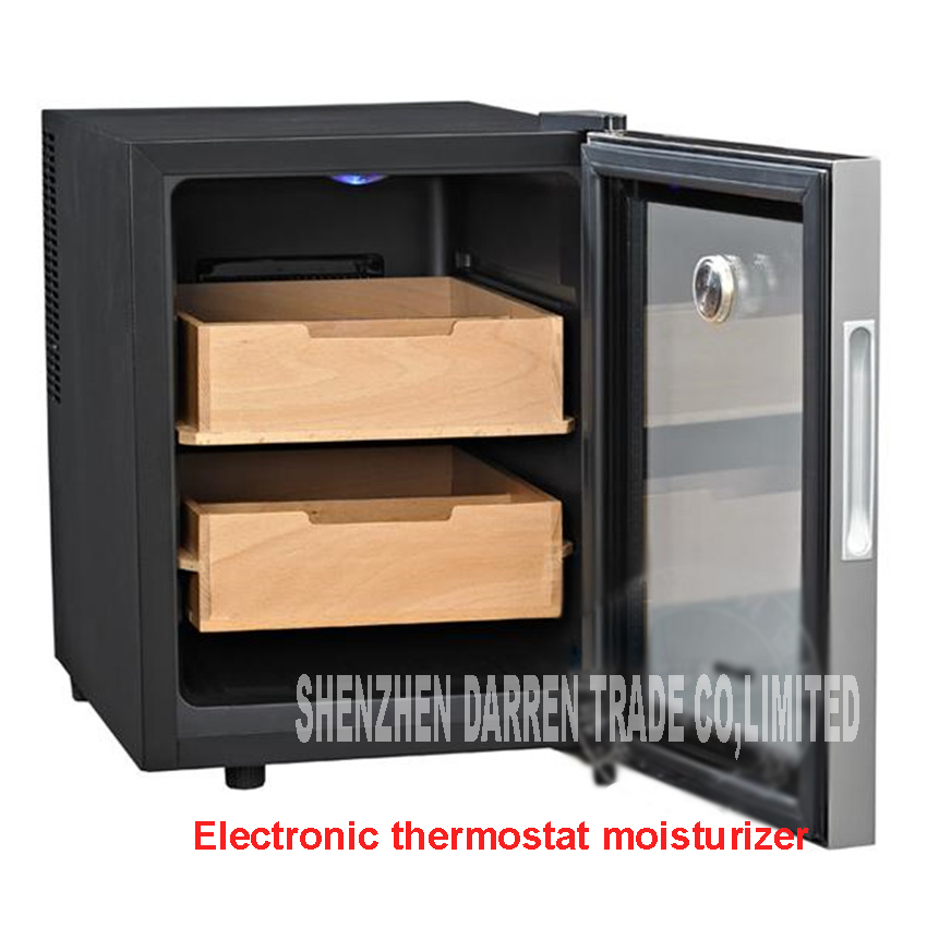 SC-12AH cigar humidor humidification wardrobe box of thermostatic storage&humidity constant electric 33l moisturizer