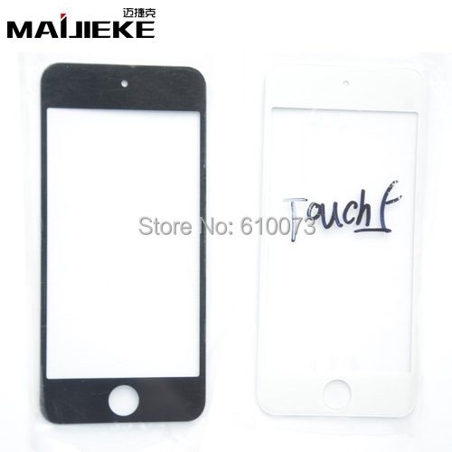 2PCS/Lot LCD Front Touch Screen Glass Replacement For iPod Touch 5 5th Gen Outer Lens lcd repair part