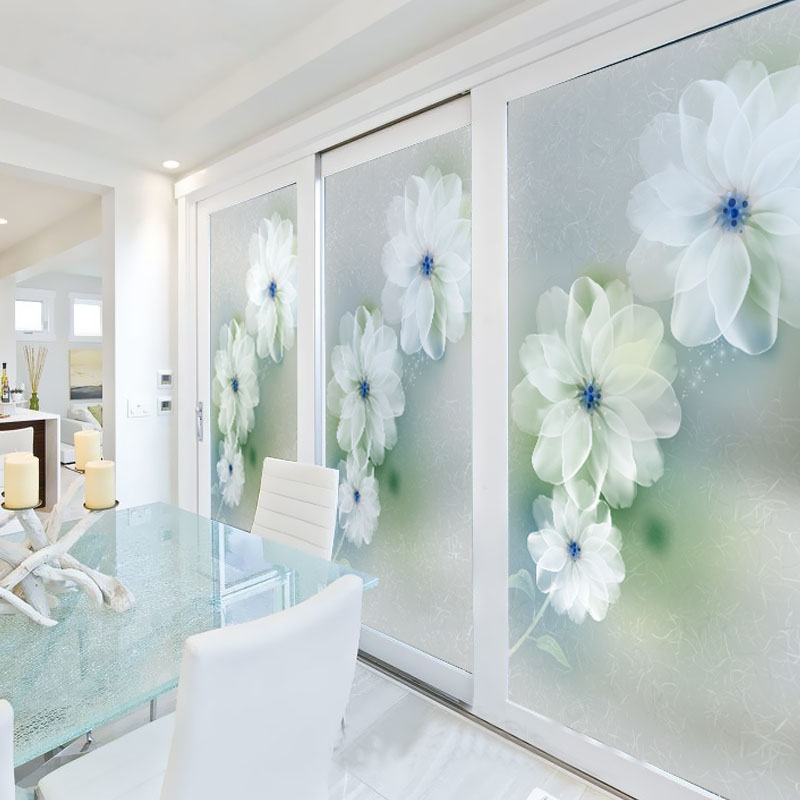 ... Sliding Glass Door Window Clings Customized Stained Glass Window Film  Sliding Door Closet Wardrobe Customized Stained ...