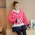 Plus de Terciopelo Otoño/invierno Suéter de Maternidad de Maternidad Sudaderas Con Capucha de Lana Chaqueta de Lana prendas de Vestir Exteriores de Ropa De Maternidad Embarazo B411