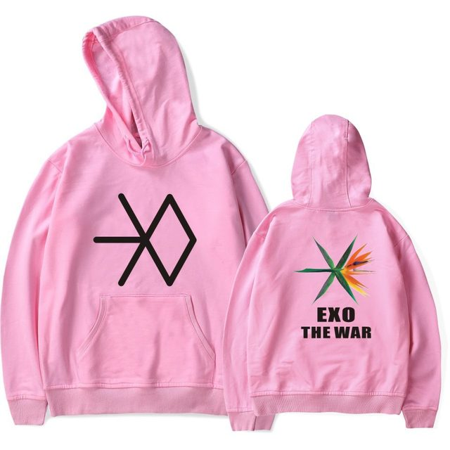 EXO THE WAR HOODIE (6 VARIAN)