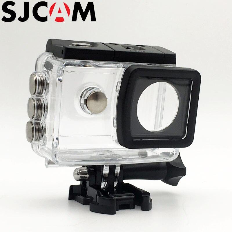 D'origine SJCAM Caisson Boîtier Étanche 30 M Plongée Pour SJ5000 WIFI/SJ5000X Elite Action Sports Caméra Accessoires