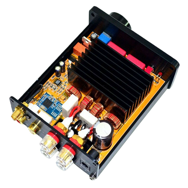 Mini Tda7498 2.0 Channel Bluetooth 5.0 Csr8675 Hifi Class D Amplifier Digital Audio Amplifier 100W+100W