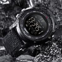 BANGWEI Esportes Ao Ar Livre Eletrônica Digital Homens Relógio de Pulso Do Bluetooth Pedômetro Cronômetro IP68 Cronógrafo À Prova D' Água Relógio Inteligente
