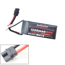 1pcs Infinity Rechargeable Lipo Battery 14 8V 1500mah 90C 4S1P Race Spec Lipo Battery For RC