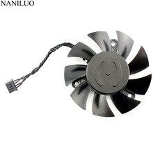 PLA07015B12L-1 65MM DC 12V 0.07AMP GTX 1080Ti Cooling Fan For EVGA GeForce GTX 1080 Ti SC2 Hybrid Graphics Card Cooler Fans