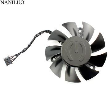 PLA07015B12L-1 65MM DC 12V 0.07AMP GTX 1080Ti Cooling Fan For EVGA GeForce GTX 1080 Ti SC2 Hybrid Graphics Card Cooler Fans new 75mm t128010su cooler fan gigabyte aorus geforce gtx1070 1080ti g1 gtx1660 ti card cooler fans